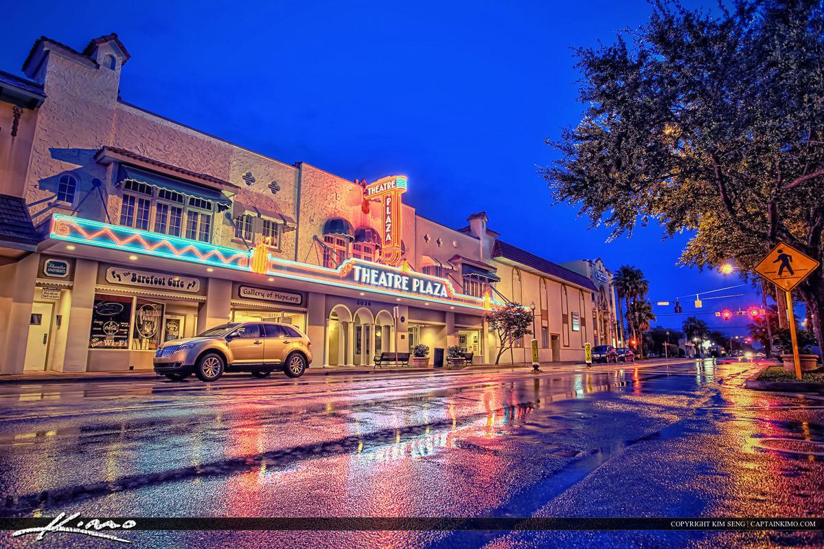 Vero Theatre Plaza Florida Beach