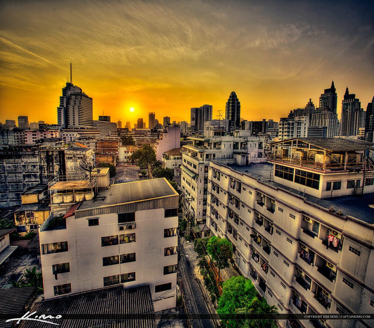 Golden Hour Hotel Bangkok Thailand
