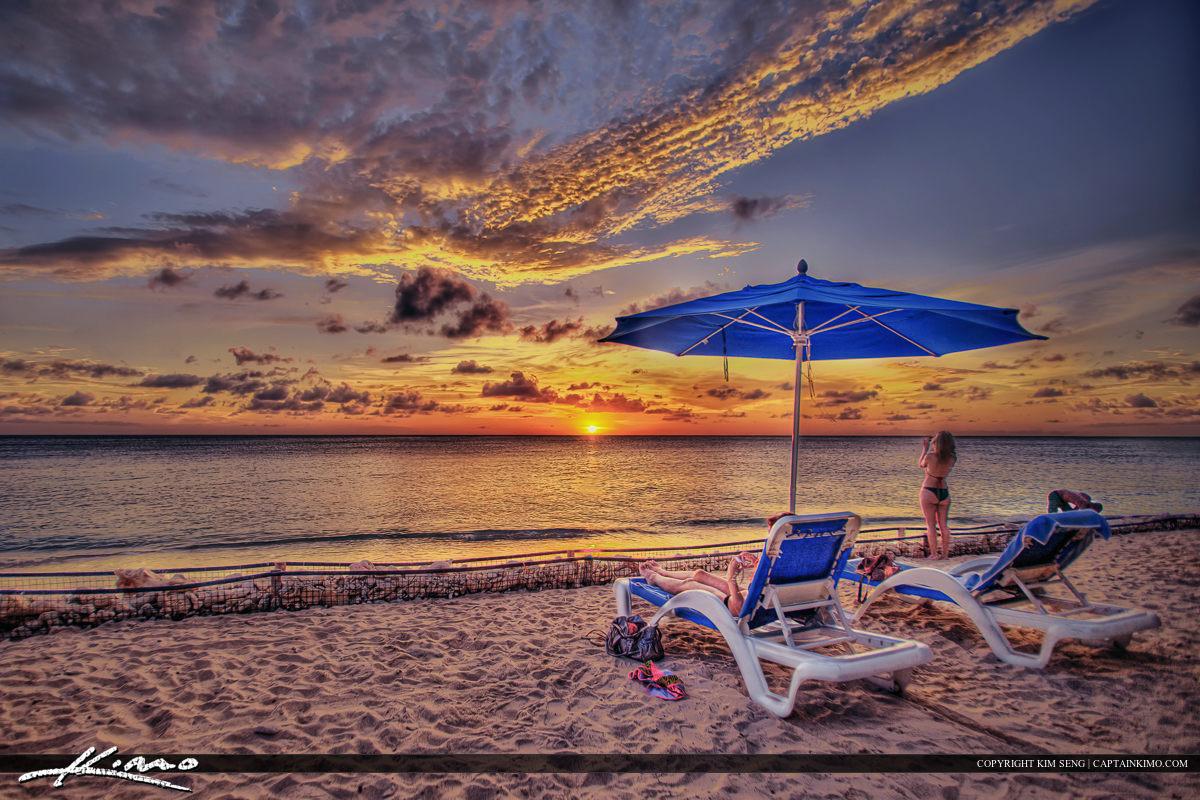 Curacao Sunset Beach Paradise Vacation