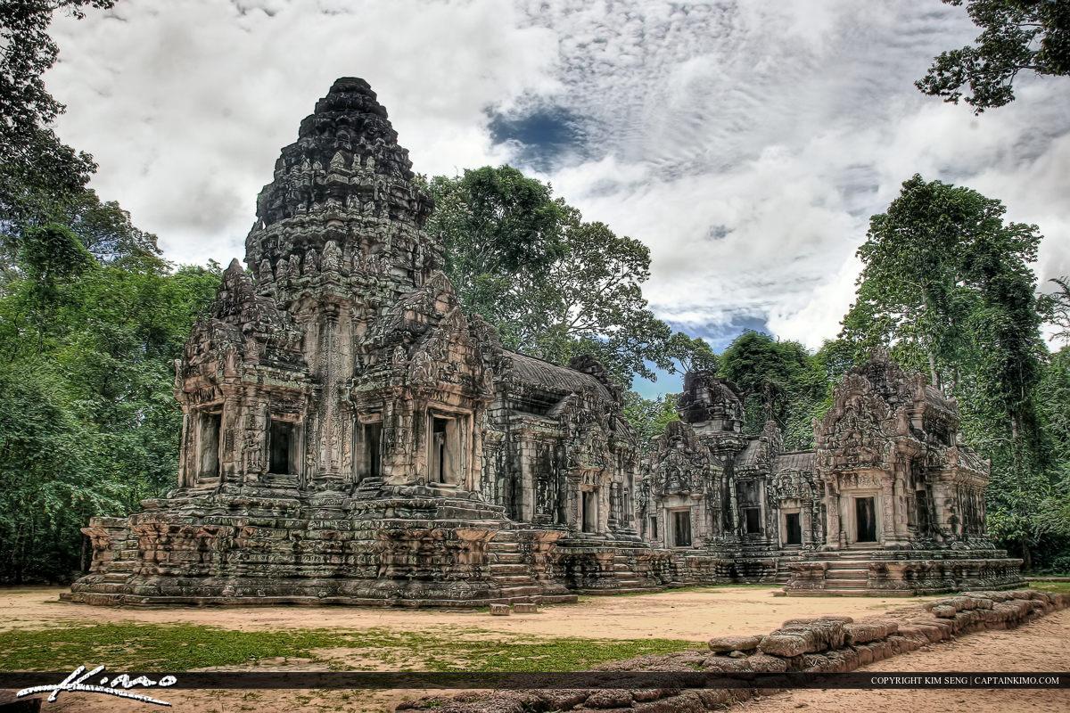 Angkor Wat Temple Ruins Siem Reap Cambodia