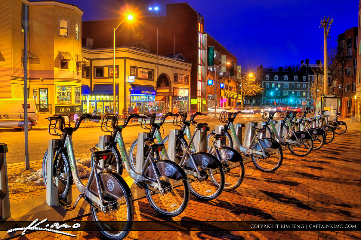 Downtown Cambridge Rental Bike Middlesex County