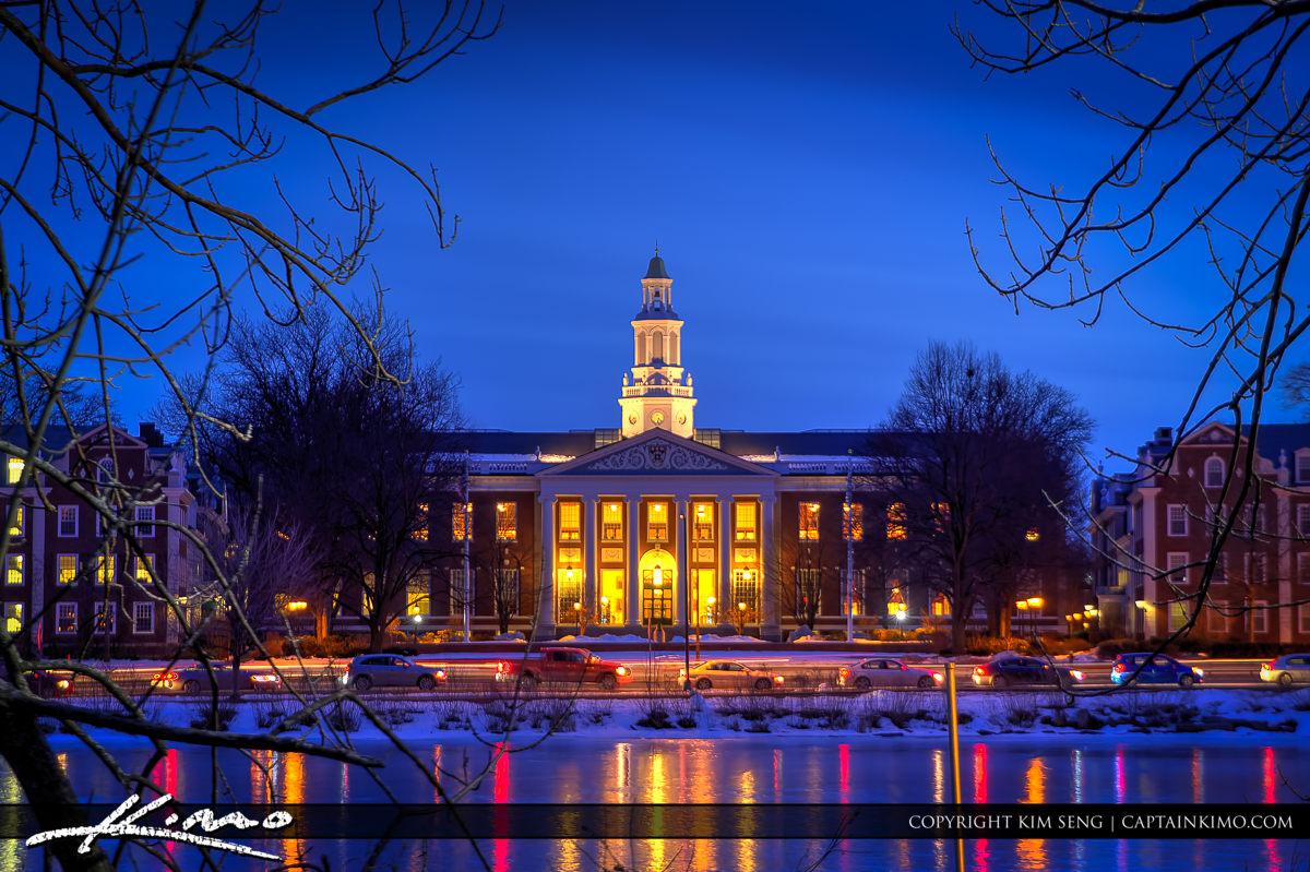 Baker Library Harvard Business School Charles River