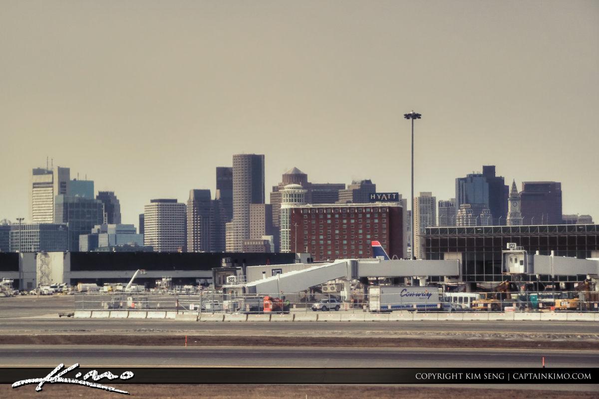 Skyline Airport Boston Suffolk County Massachusetts
