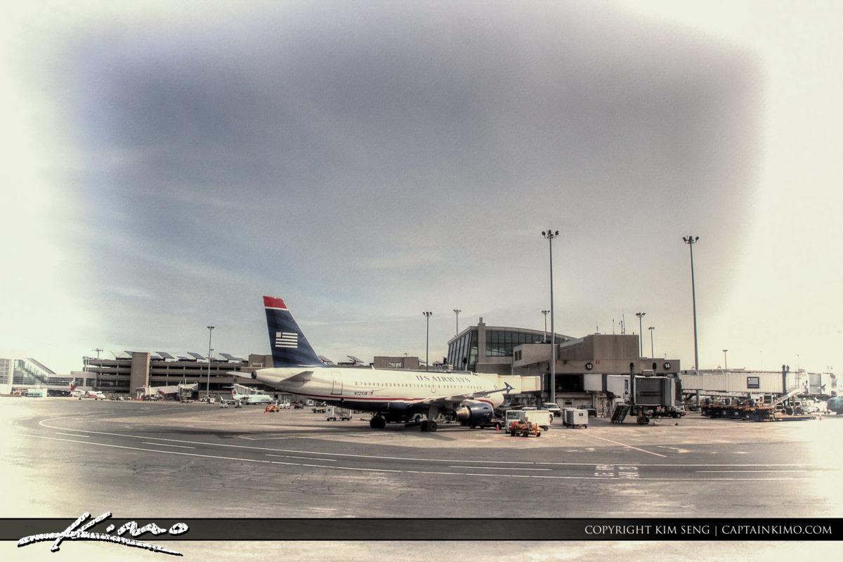 Airport Terminal Boston Suffolk County Massachusetts