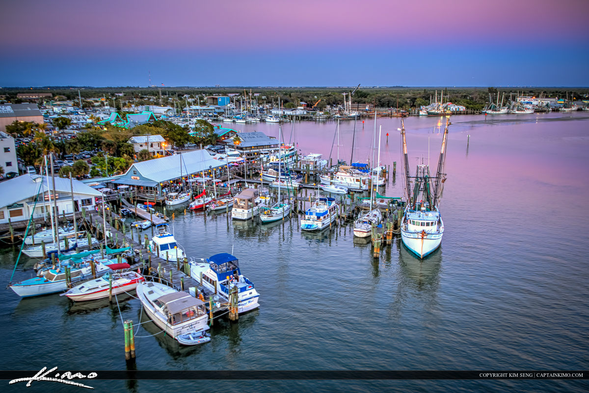 Martanzas Marina Bay Harbor Fort Myers Beach Sunset