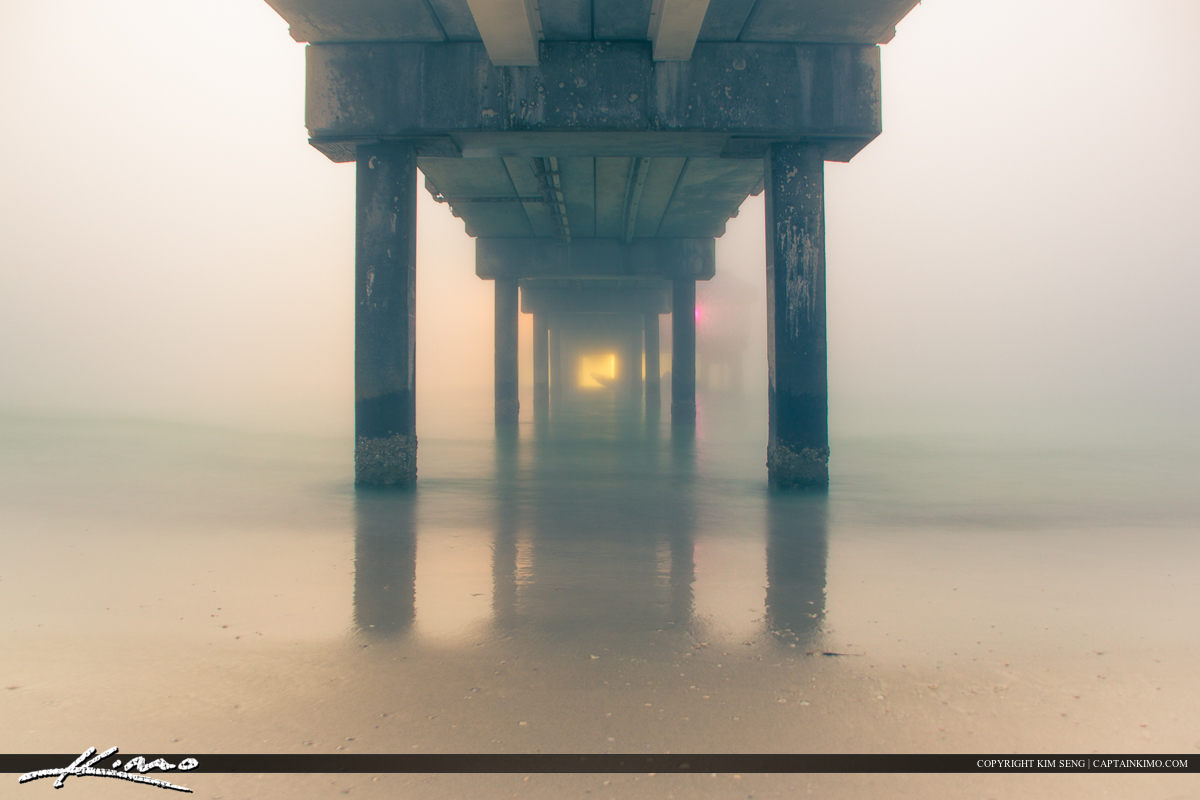 Underneath Pier 60 Clearwater Florida Pinellas County