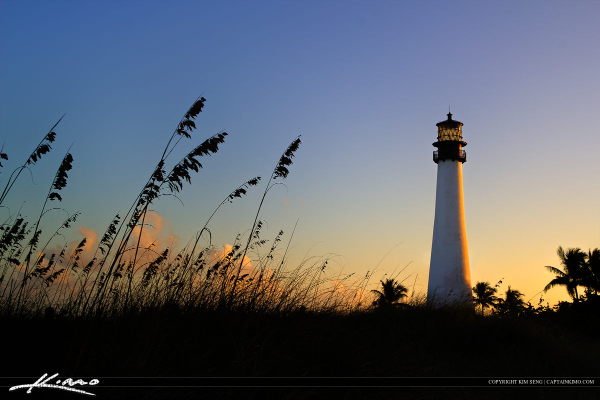 Cape Florida Lighthouse Seaoat Key Biscayne