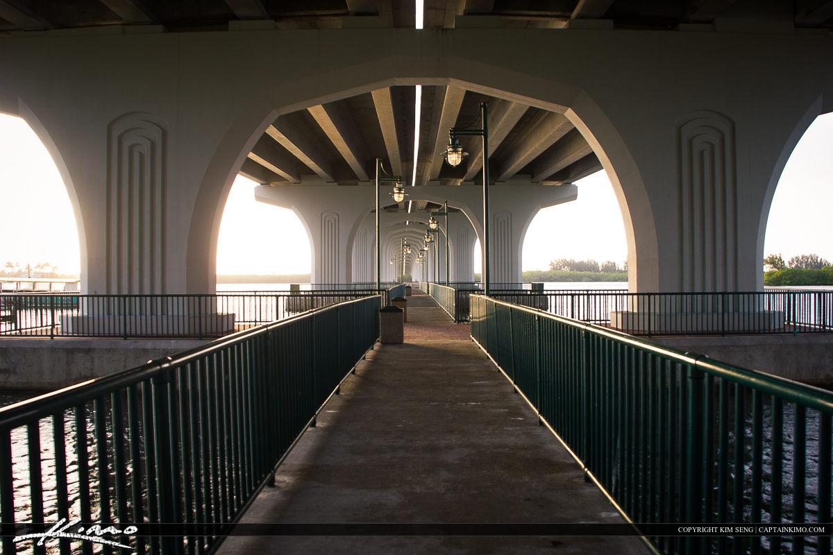 Vero Beach Under the Indian River Bridge