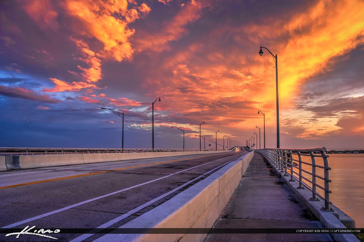 Stuart Bridge Cuaseway to Hutchinson Island Martin County