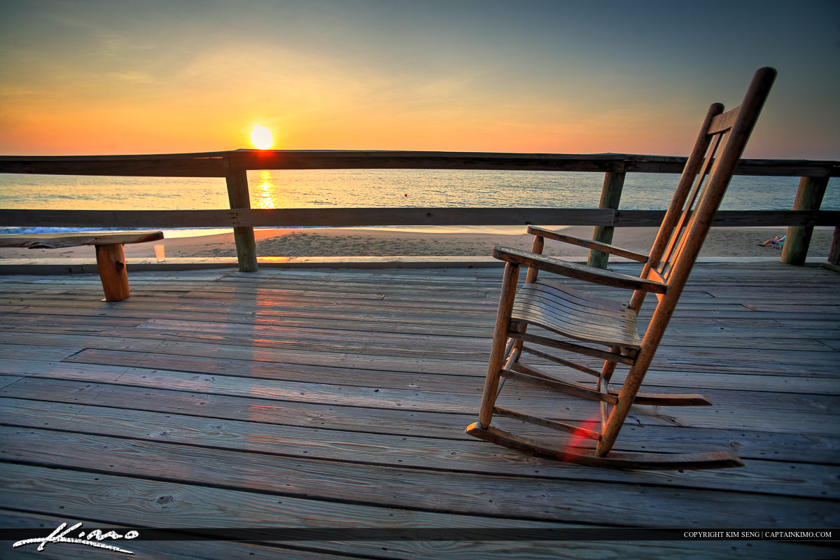 Vero Beach Rocking Chair at Sunrise