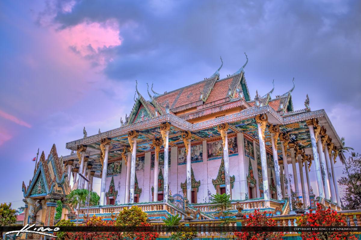 Temple at Phnom Ek Battambang Cambodia