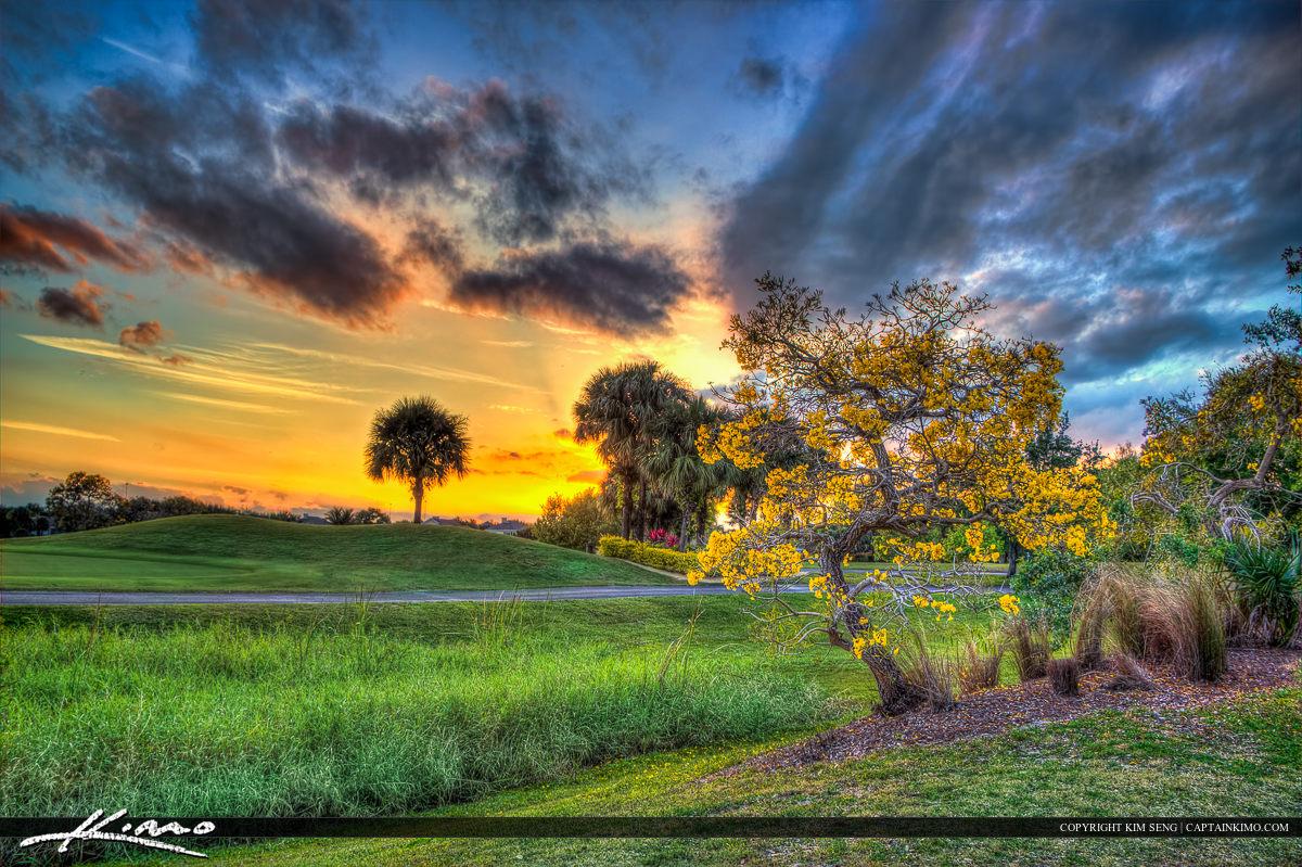 Sunset Golf Course Abacoa Jupiter