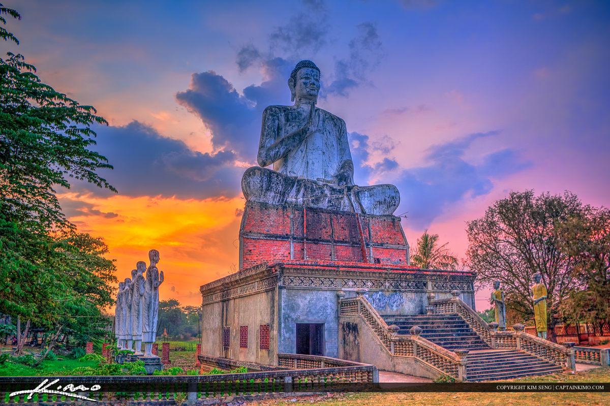 Buddha Statue from Cambodia Battambang
