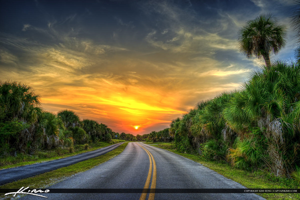 Sunset Road Fort Pierce Inlet State Park