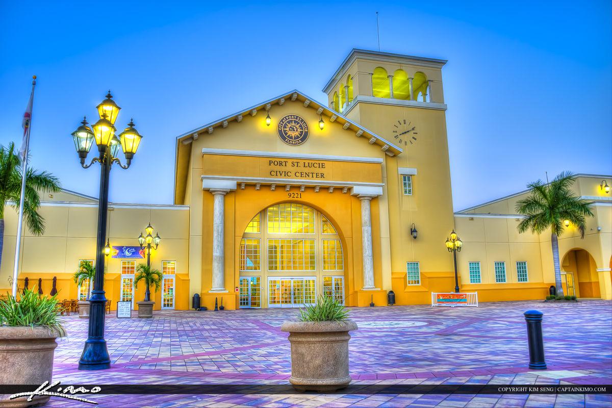 Main Hall Port St. Lucie Civic Center