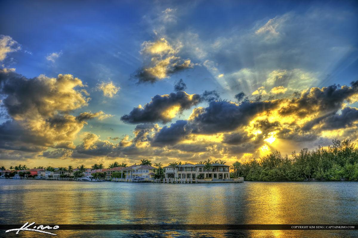 Boca Raton Sunset Waterway Homes