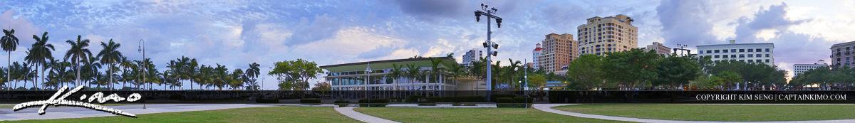 West Palm Beach Downtown Skyline Flagler Park