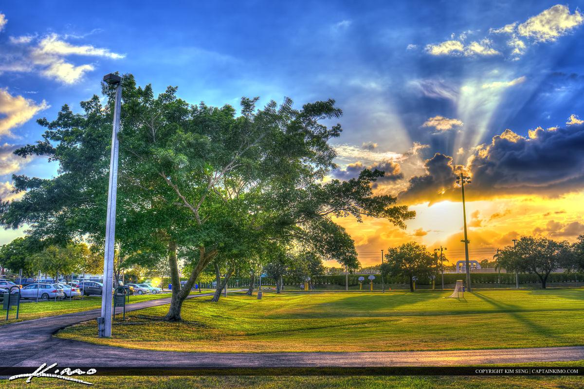 Soccer Field at Viilage Park Wellington Florida