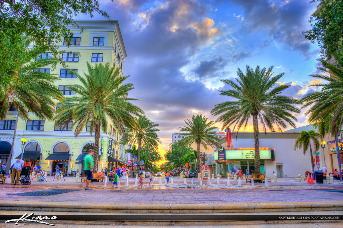 Flagler Park at Clematis Downtown West Palm Beach