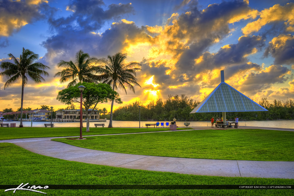 Boca Raton Sunset at Red Reef Park