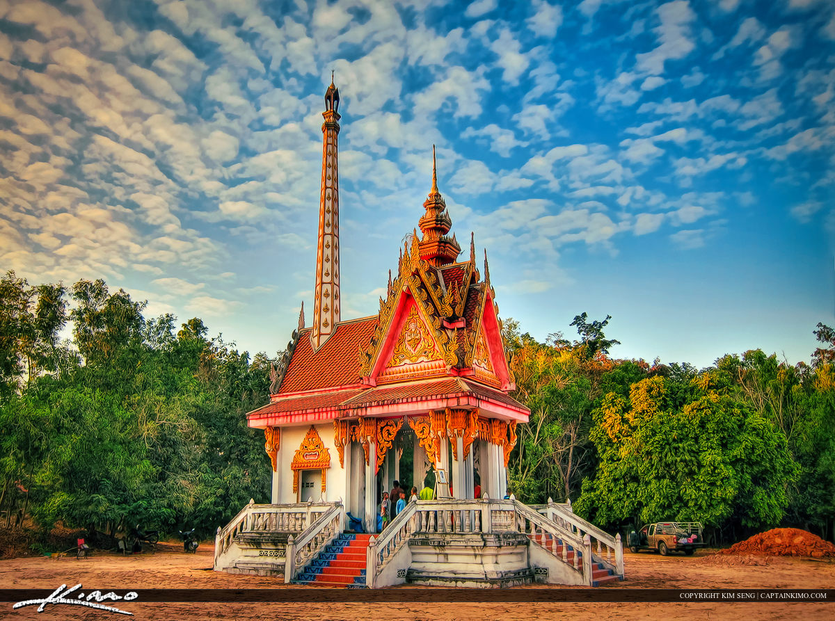 Old Temple in Thailand Country Side