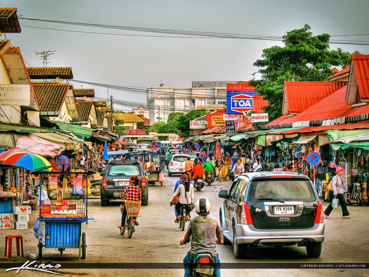 Crossing the Border to Cambodia from Thailand
