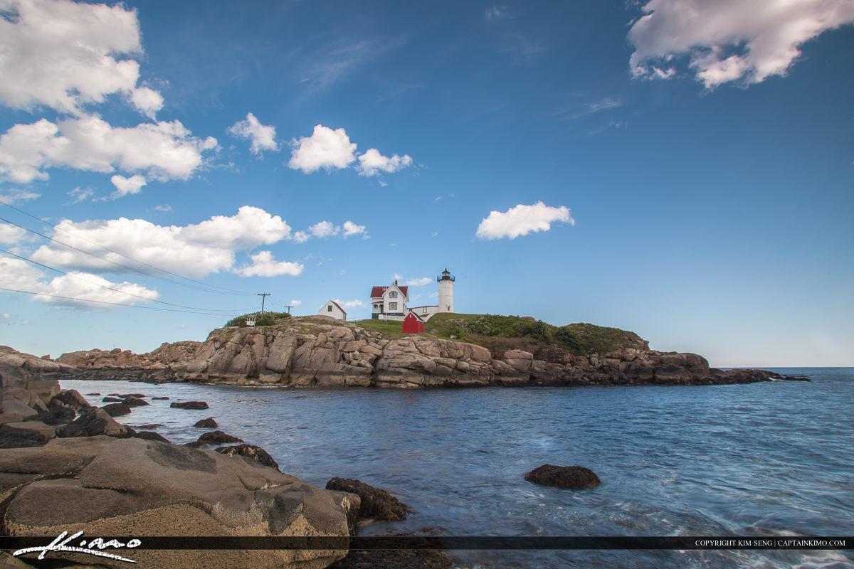 The nubble lighthouse at Cape Neddick