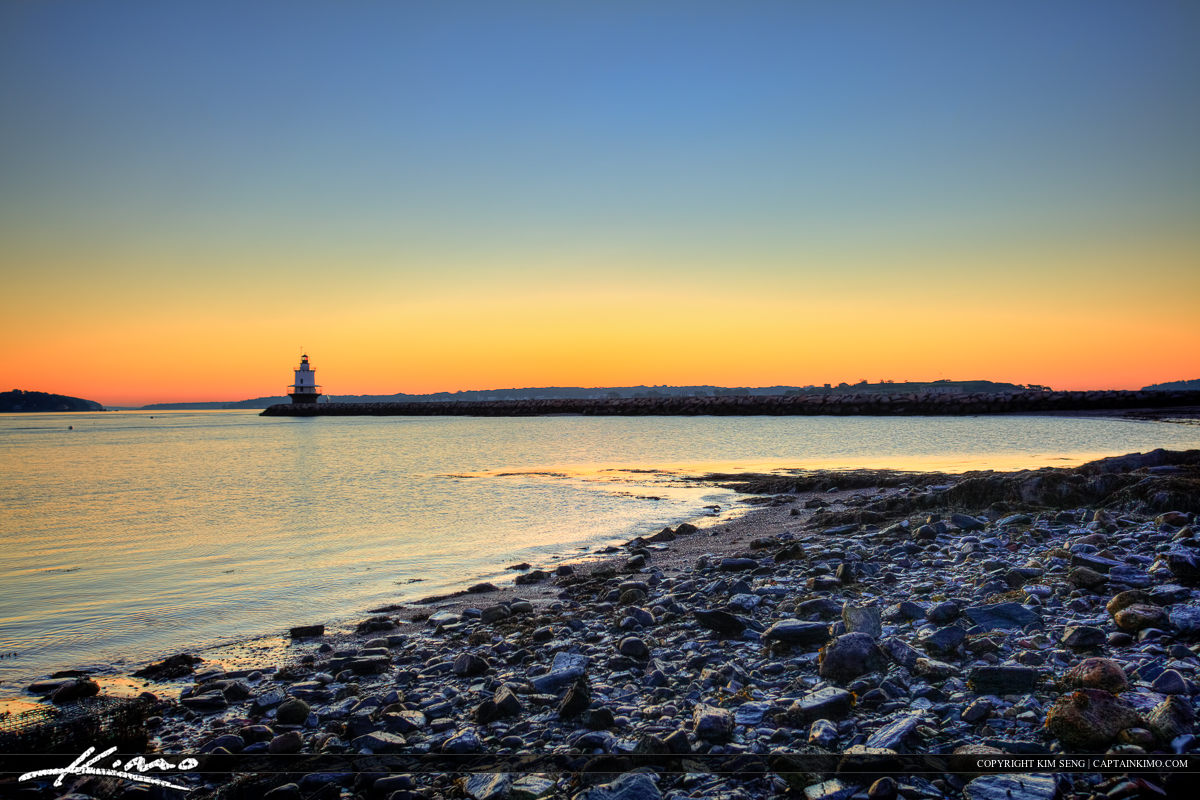 Spring Island ledge lighthouse South Portland Maine