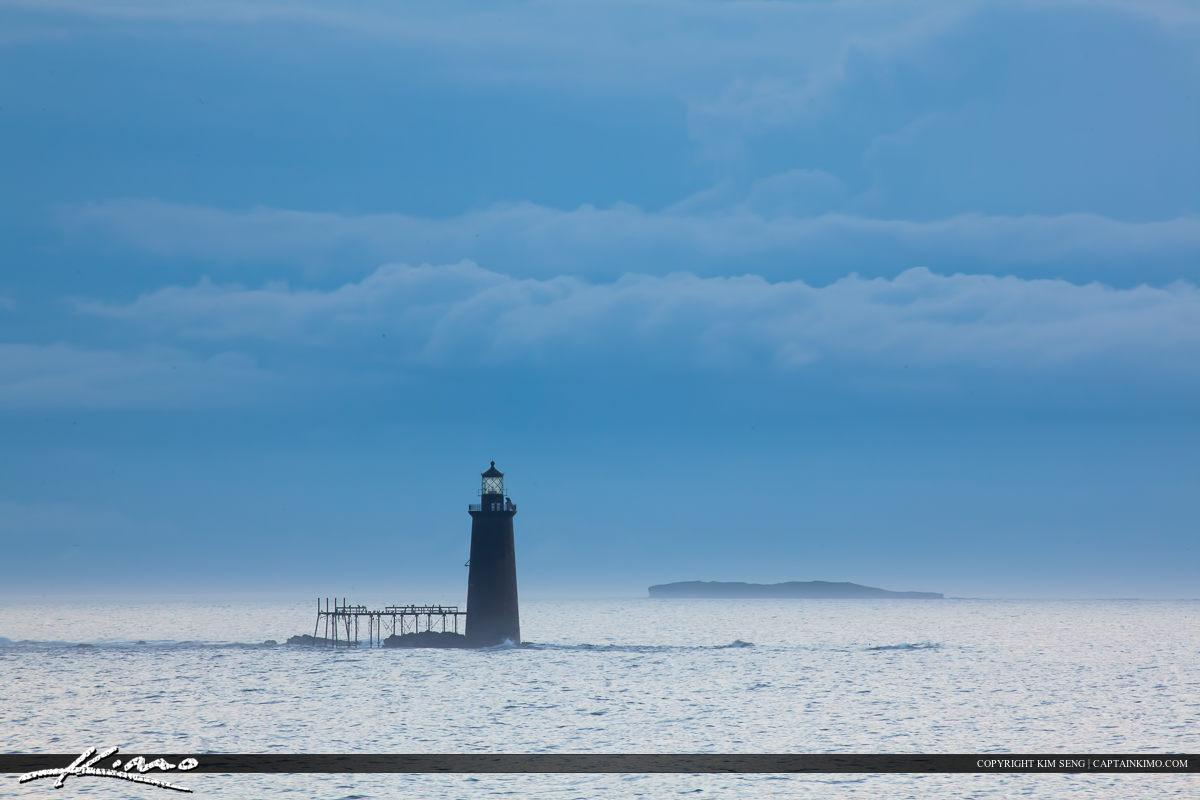 Ram Island Lighthouse from Cape Elizabeth Maine
