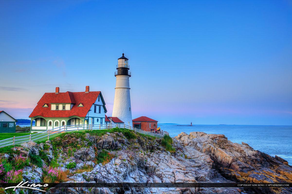 Portland Lighthouse Maine Cape Elizabeth