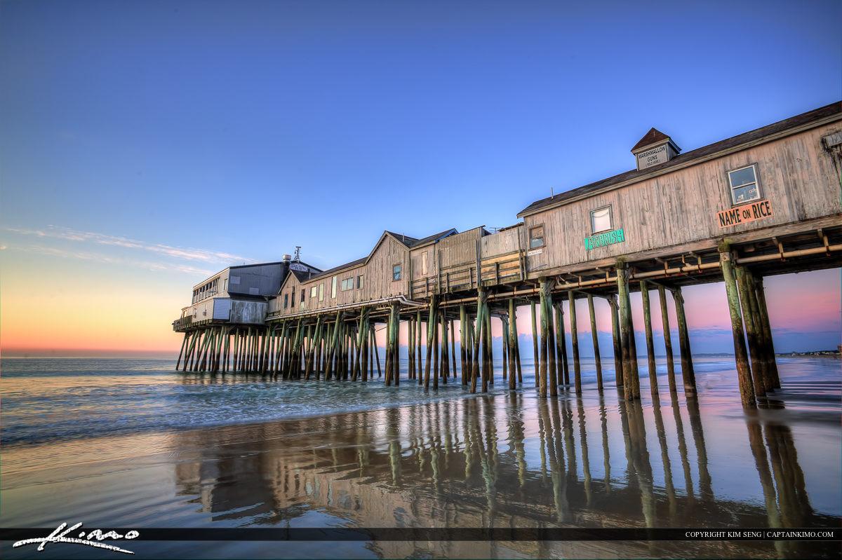 Old Orchard Beach Pier Restaurant Maine