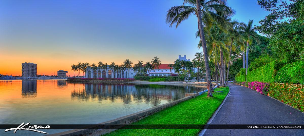 Flagler Museum and Bike Trail Palm Beach
