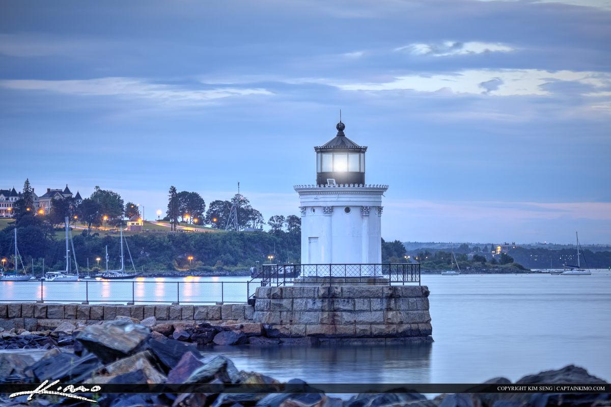 Bug light lighthouse in South Portland Maine