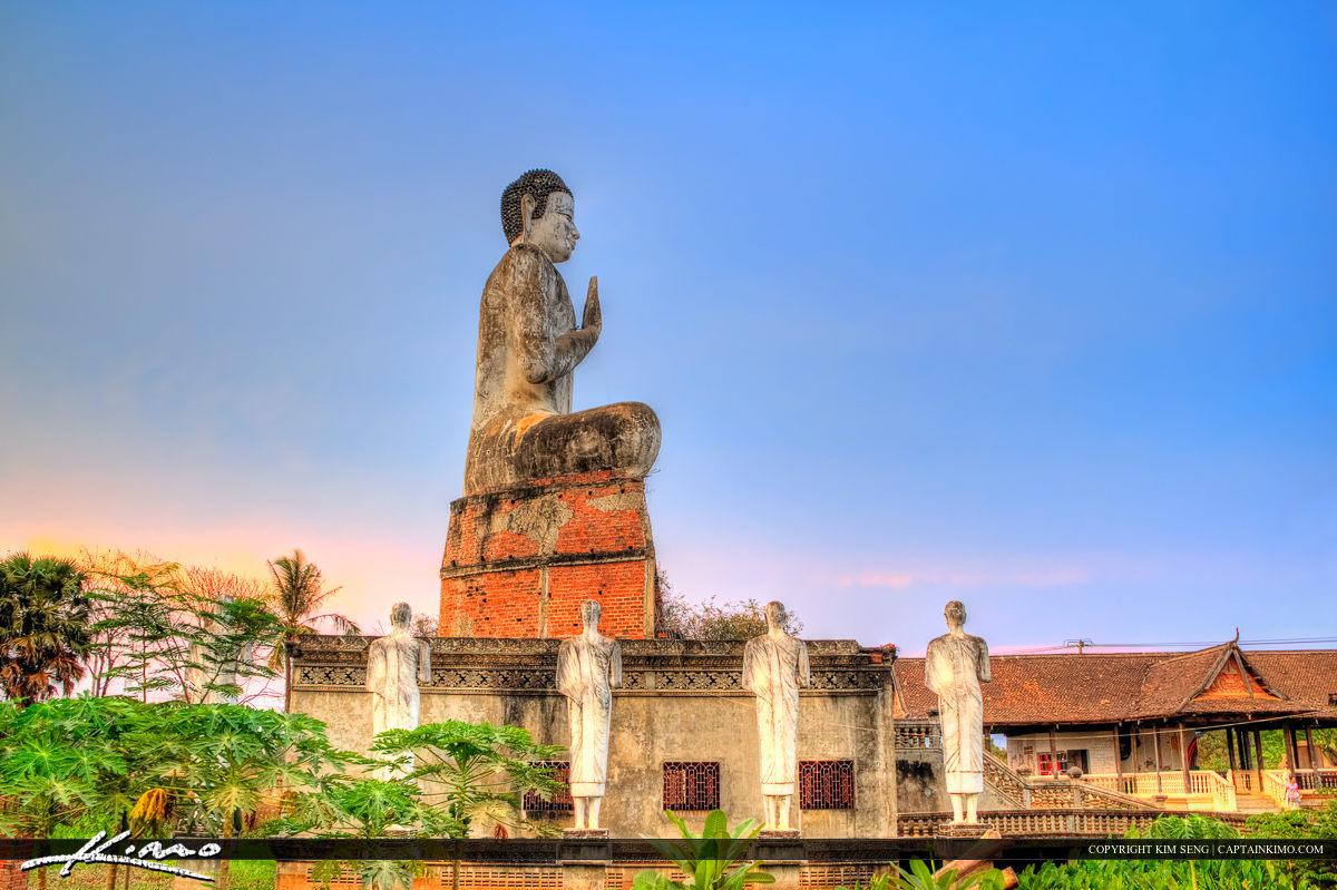 Buddha One Hand Up