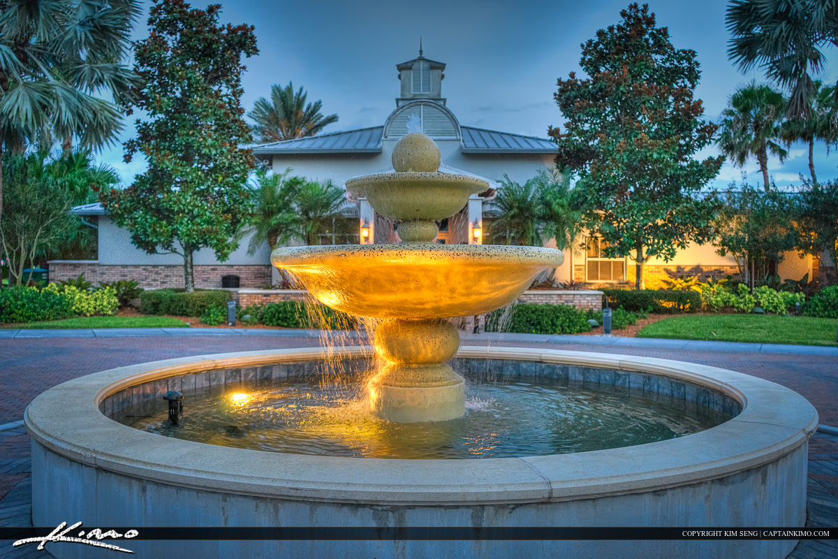Water Fountain Close up Tradition Port St Lucie Florida