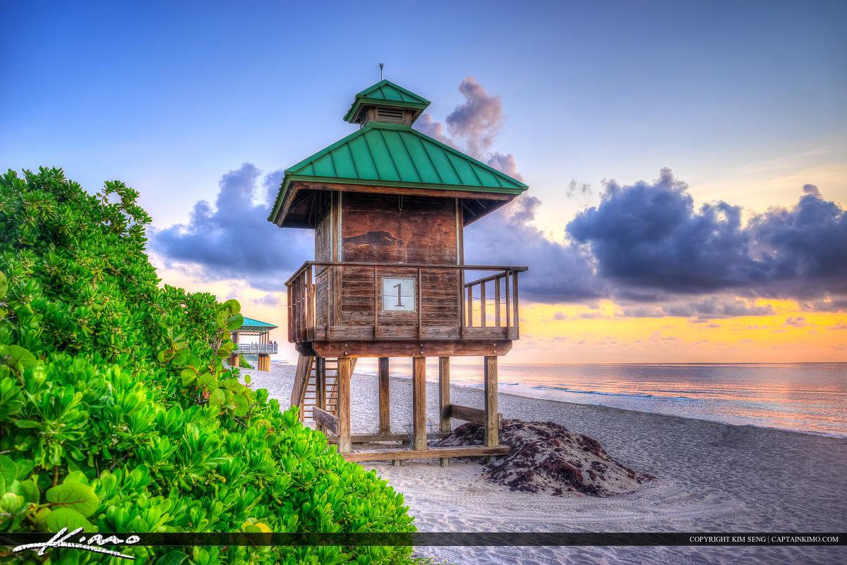 South Inlet Park Boca Raton Florida Beach Sunrise