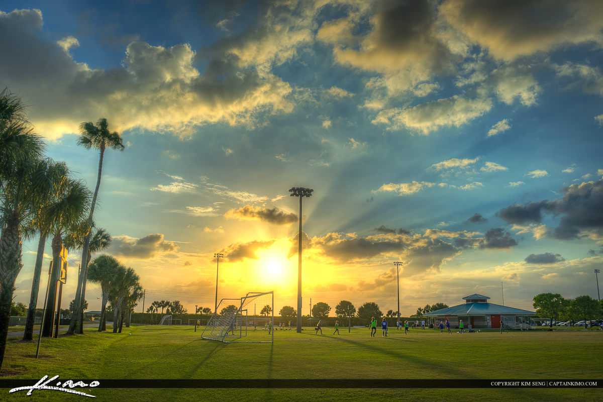Soccer Field Village Park Wellington Florida
