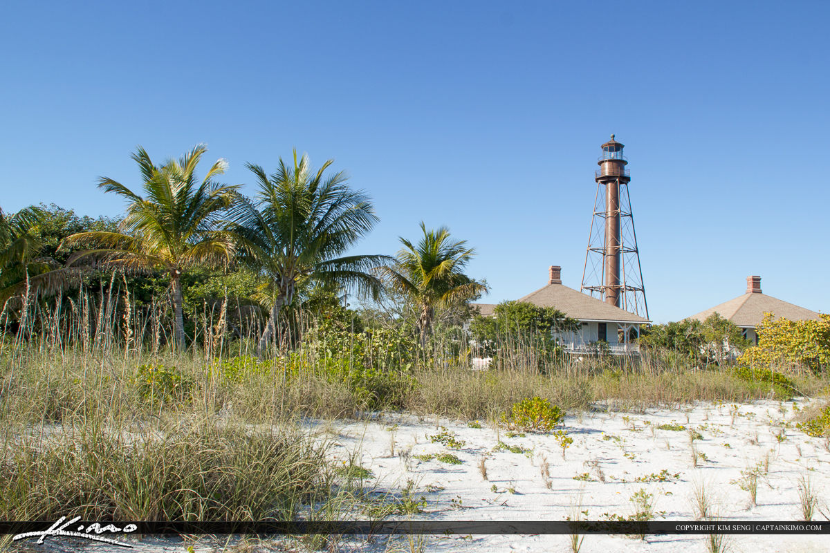 Sanibel Island lighthouse Lee County Florida