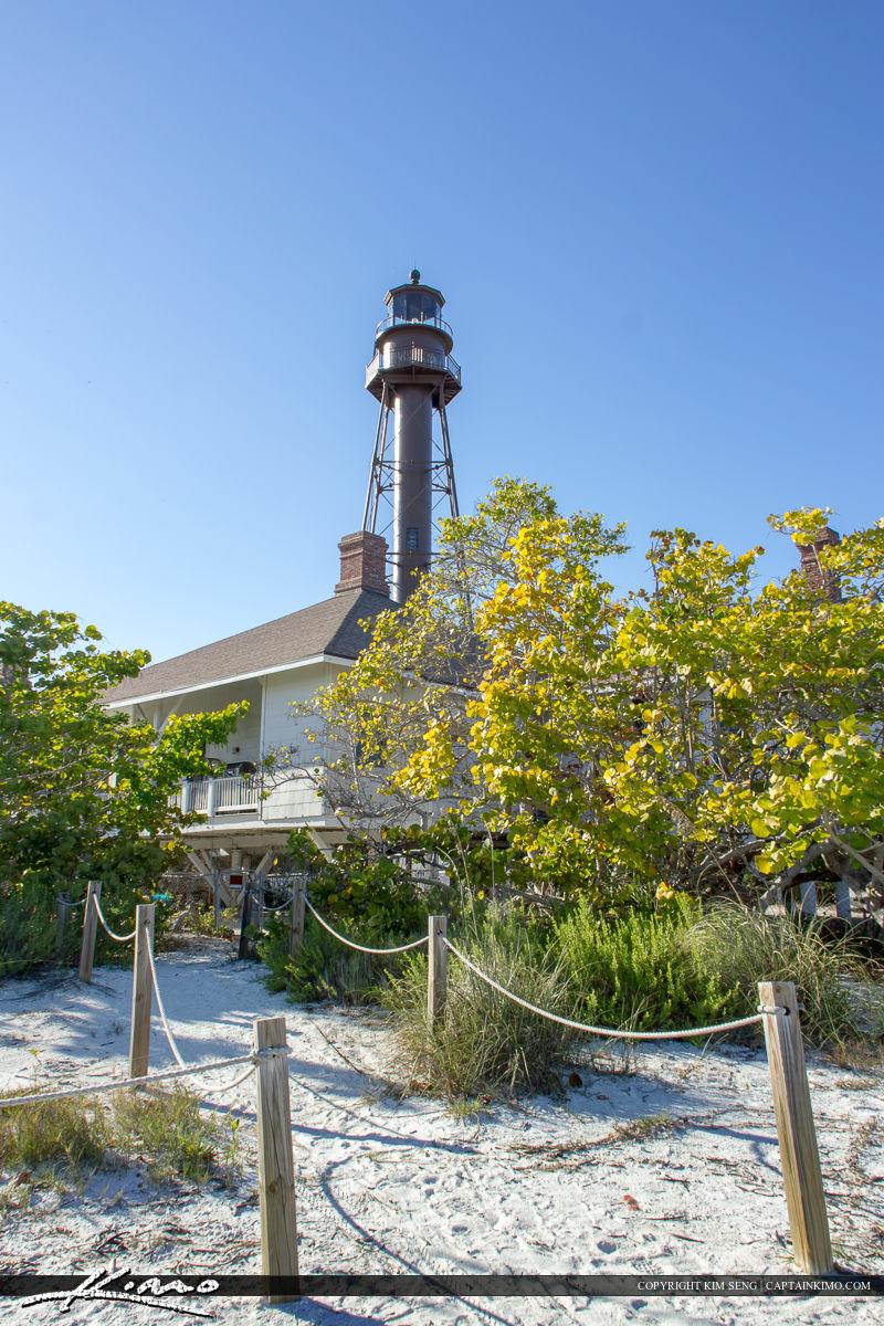 Sanibel Island lighthouse Lee County Florida