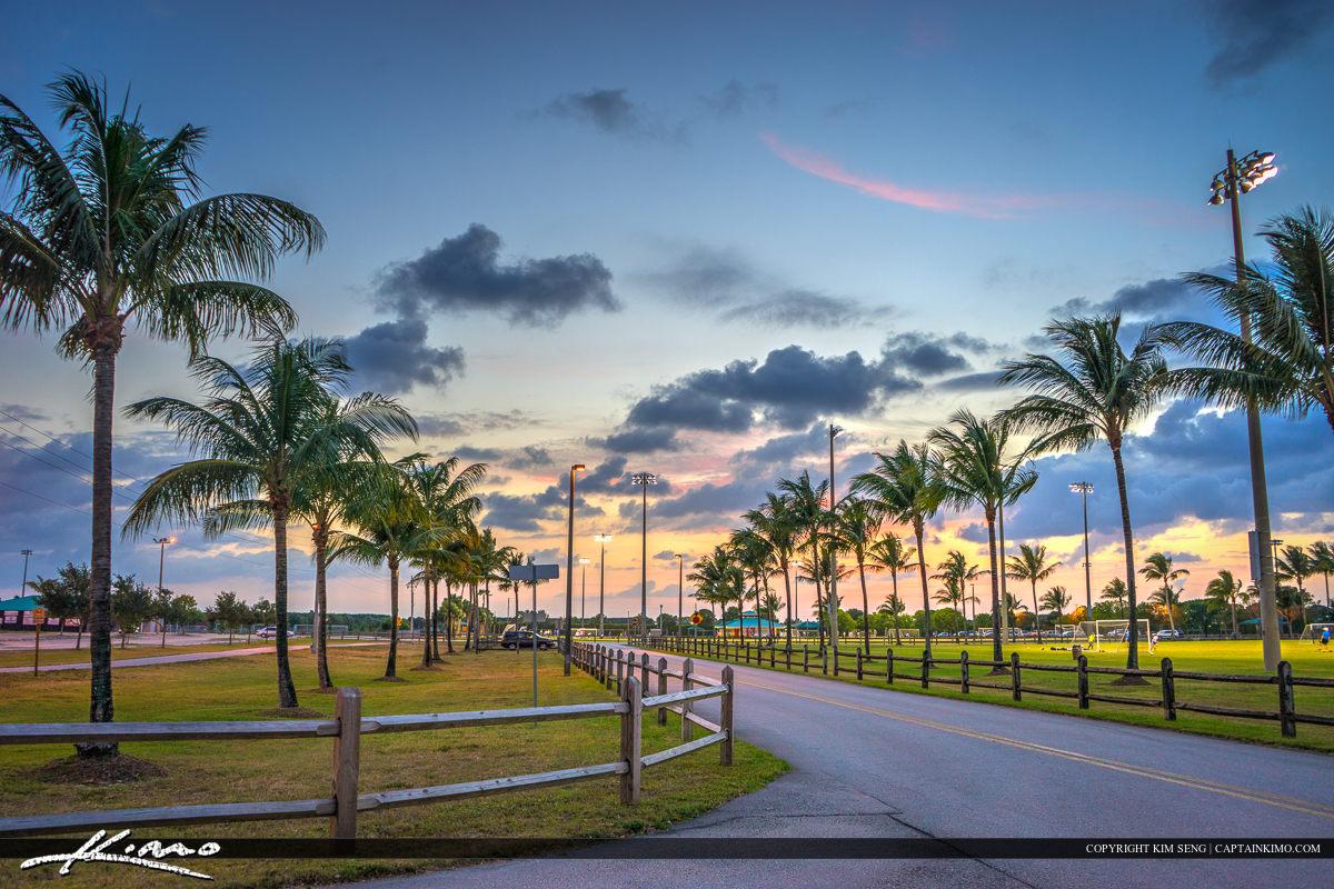 Road Village Park Wellington Florida