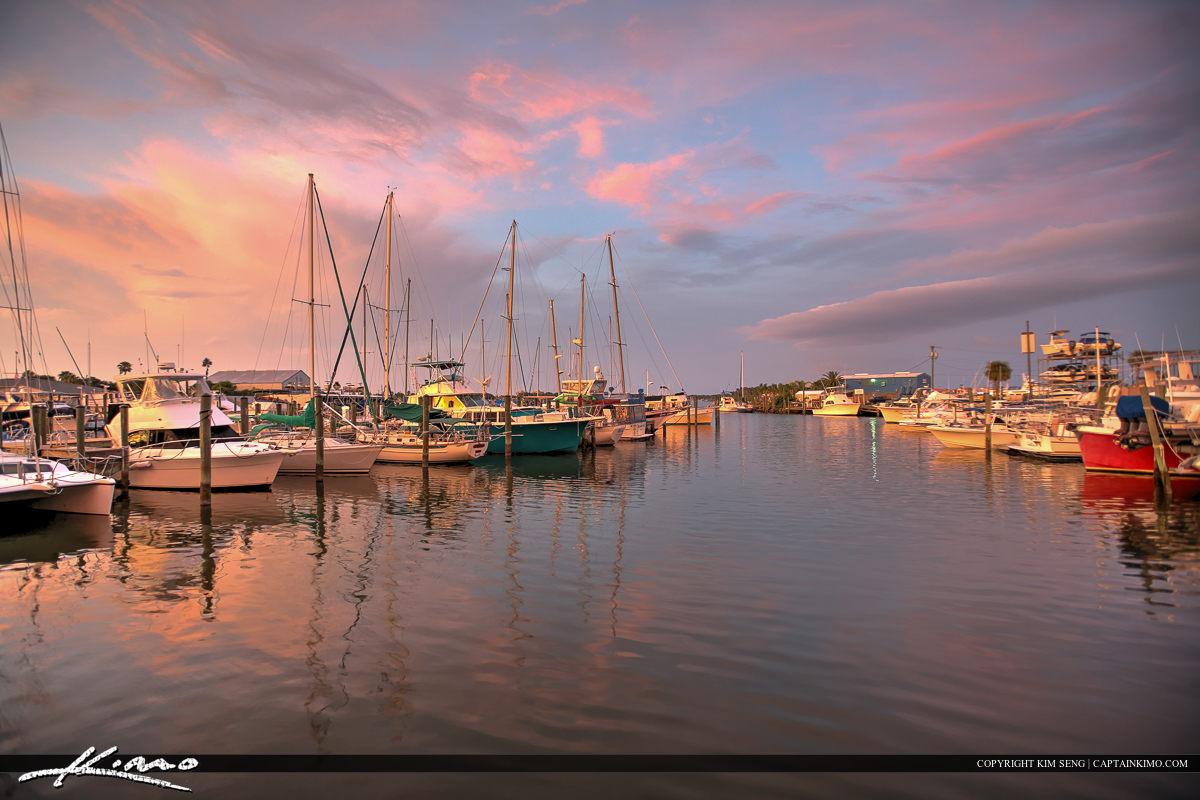 New Smyrna Beach Boat Dock Marina Volusia County