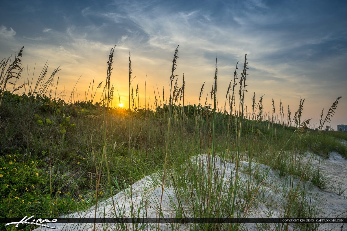 Fort Pierce Inlet State Park during sunset