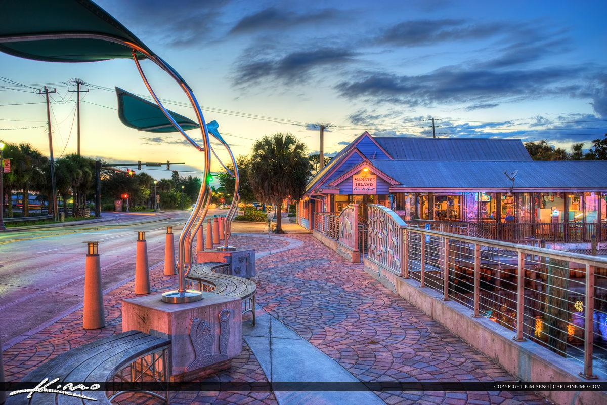 Fishermans Warf Port Salerno Florida Martin County