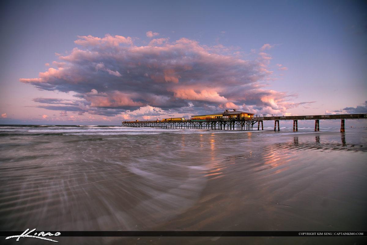 Daytona Beach Shores Crabby Joe's Deck & Grill Storm Cloud