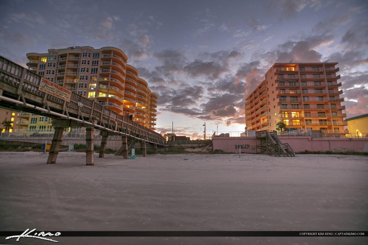 Daytona Beach Shores Crabby Joe's Deck & Grill Beach Condo