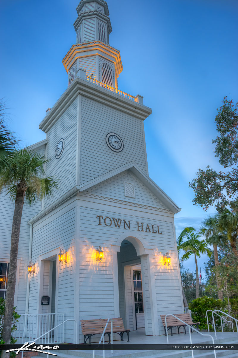 City Hall Building Up Close Tradition Port St Lucie Florida