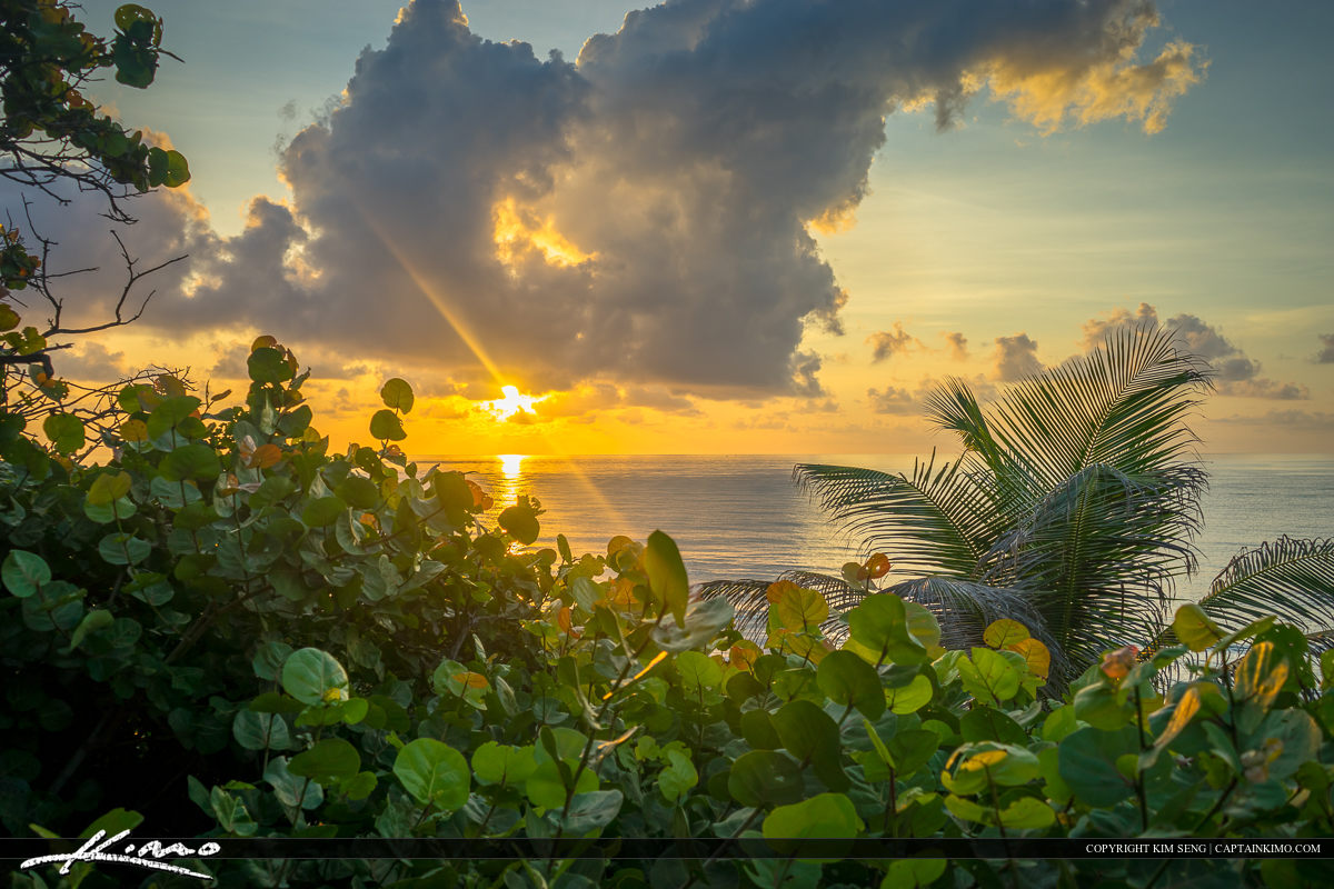 Beautiful Sunrise Boca Raton Beach Florida