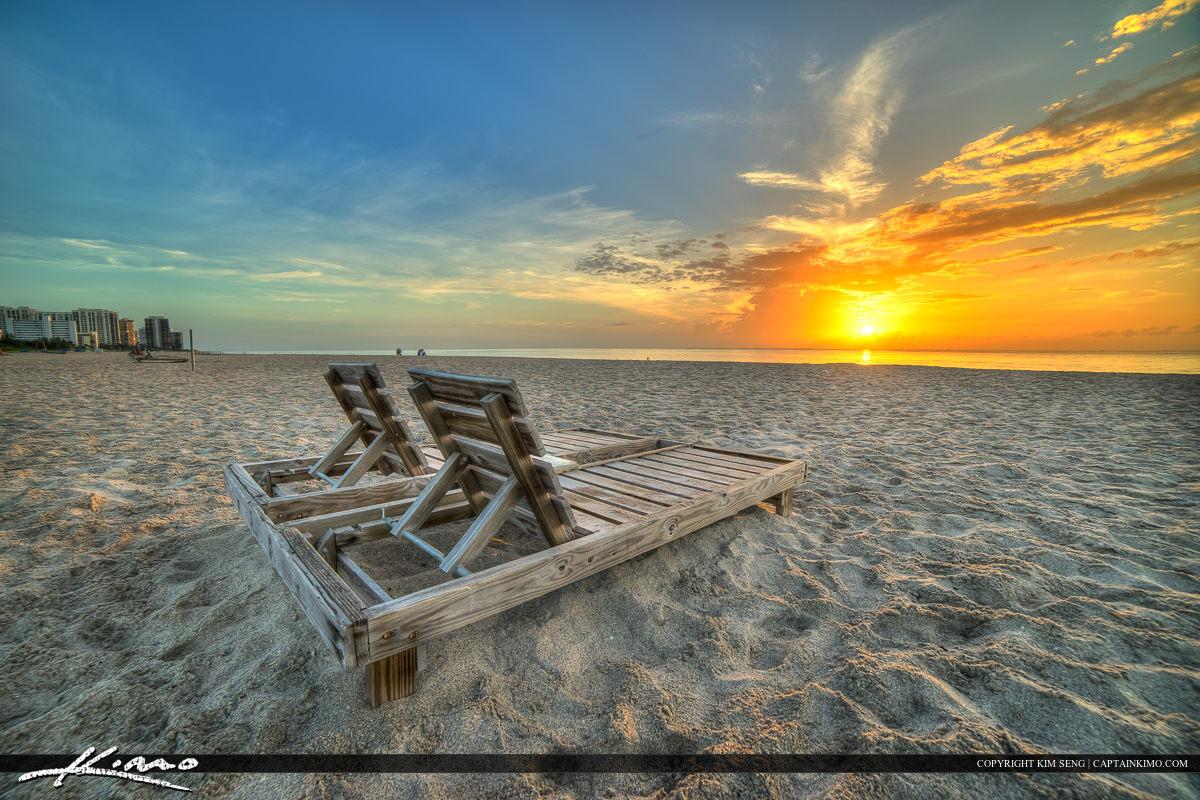 Beach Chair Singer Island Florida
