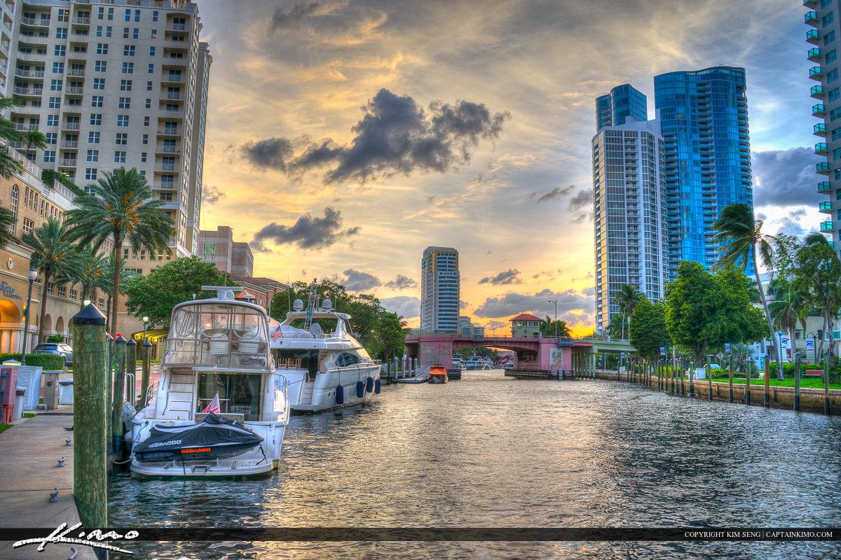 New River adn Yacht Fort Lauderdale Florida Broward County