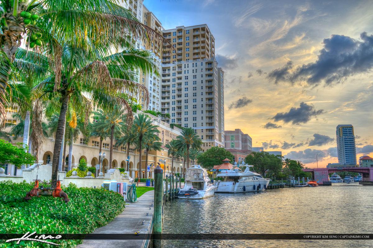 Riverwalk New River Fort Lauderdale Florida Broward County